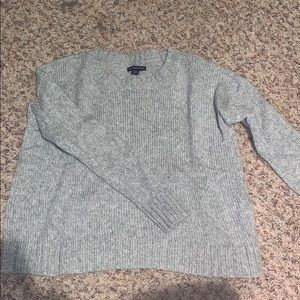 Like new AE Shine silver sweater!